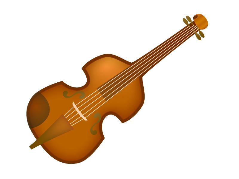 バイオリンのイラスト
