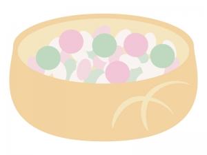 雛あられ・雛祭りのイラスト02