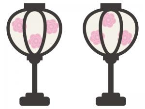 ぼんぼり・雛祭りのイラスト02