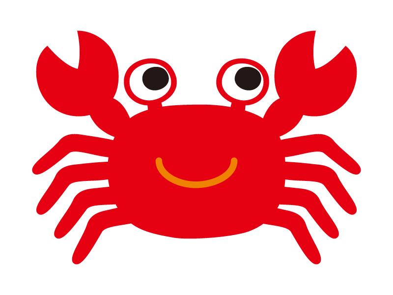 蟹のイラスト