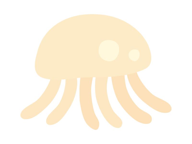 クラゲのイラスト