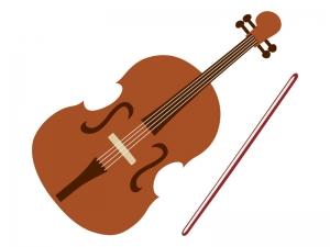 音楽・バイオリンのイラスト