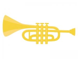 楽器トランペットのイラスト イラスト無料かわいいテンプレート