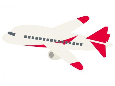 飛行機のイラスト