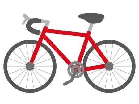 自転車・サイクリングのイラスト03