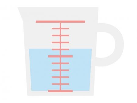 計量カップのイラスト