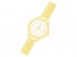 ゴールドの腕時計のイラスト