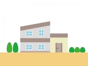 家・一般住宅のイラスト