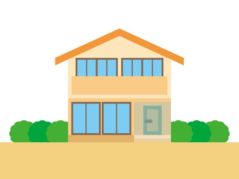 家・一般住宅のイラスト02