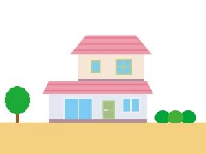家・一般住宅のイラスト04