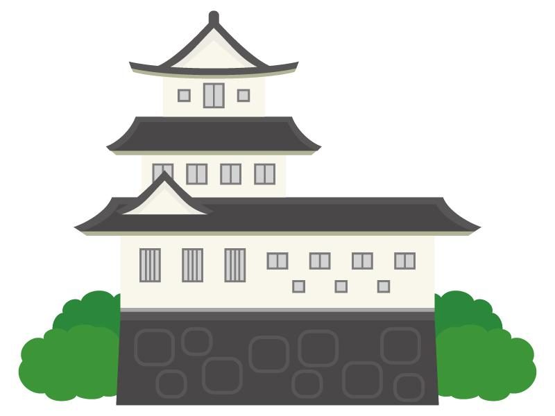 お城のイラスト02