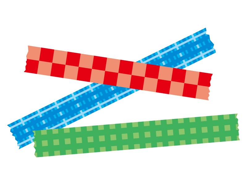マスキングテープのイラスト