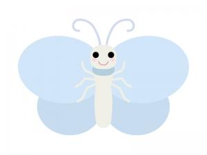 かわいい蝶々のイラスト02