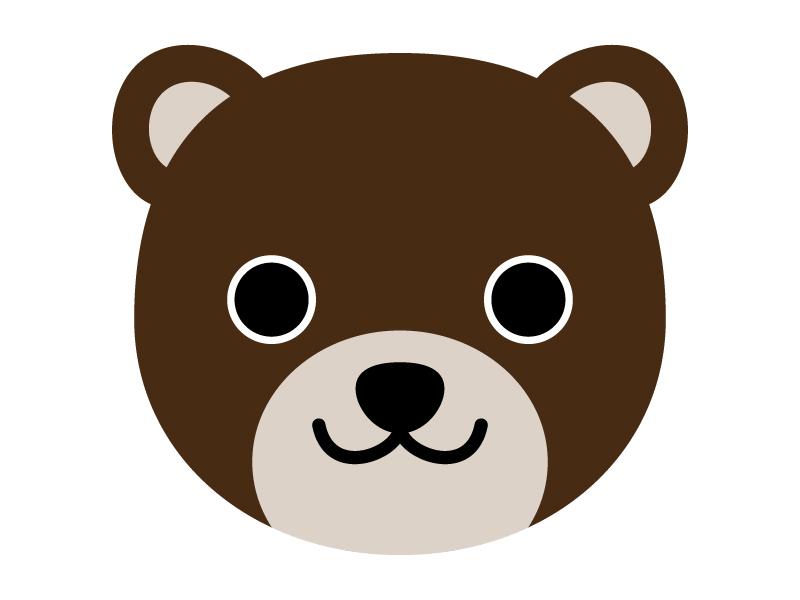 かわいいクマのイラスト02
