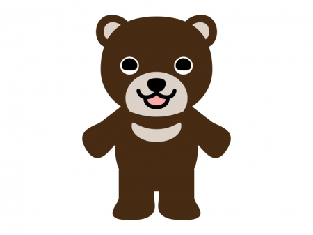 かわいいクマのイラスト03