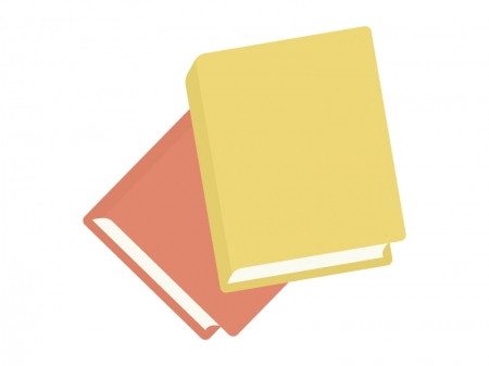 二冊の本・BOOKのイラスト