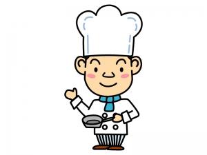 コックさん・料理人のイラスト