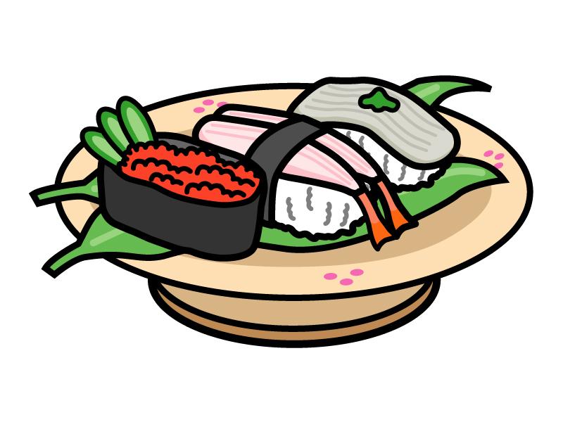 お寿司・握り寿司のイラスト02