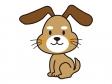 かわいい犬のイラスト02