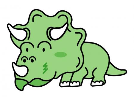 かわいい恐竜のイラスト02
