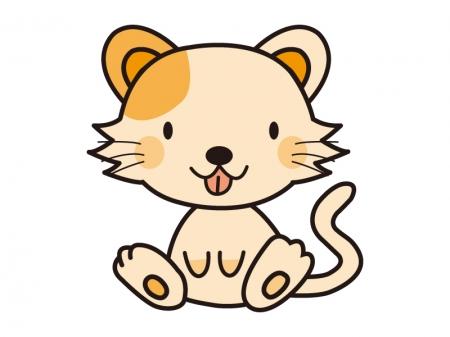かわいいネコのイラスト02