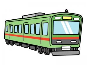 電車・鉄道のイラスト02