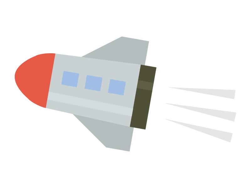 ロケットのイラスト02
