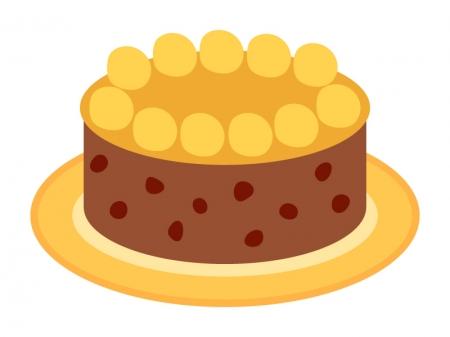 イースター・ケーキのイラスト