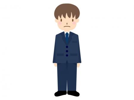 新入社員をイメージした男性のイラスト03