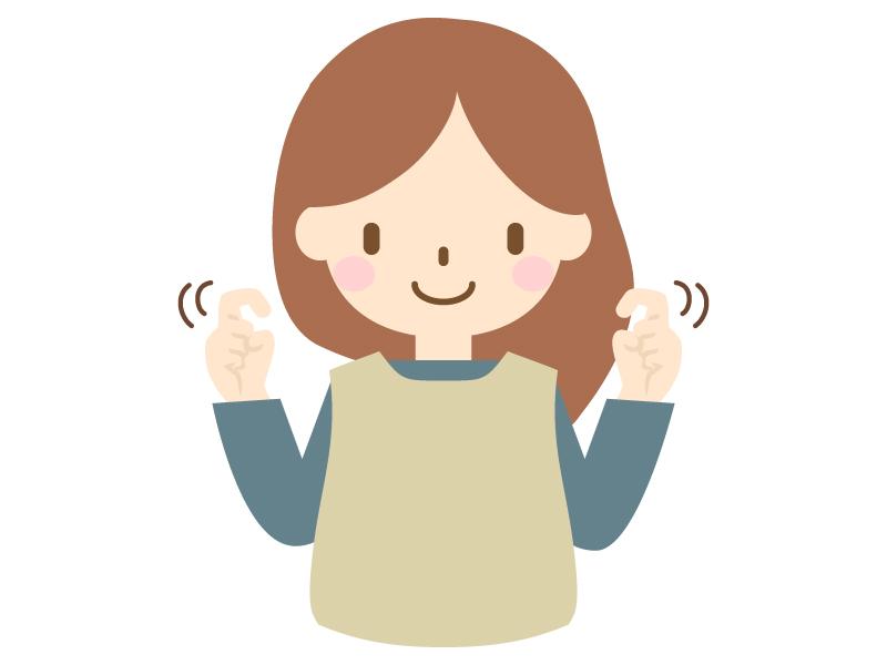 手話の挨拶のイラスト