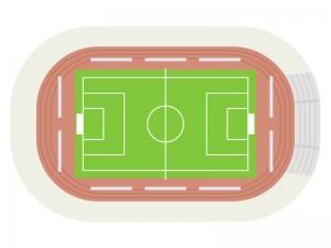 競技場・スポーツスタジアムのイラスト