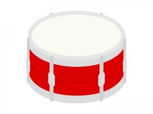 楽器・小太鼓のイラスト