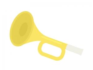 楽器・ラッパのイラスト02