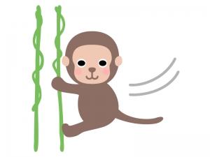 お猿さんのイラスト