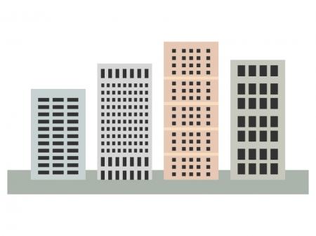 ビル・建物のイラスト