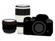 カメラ・ダブルズームキットのイラスト02