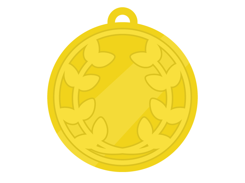 金メダルのイラスト02