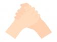 握手のイラスト02