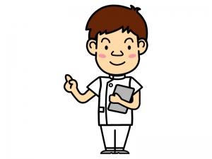 男性の看護師さんのイラスト