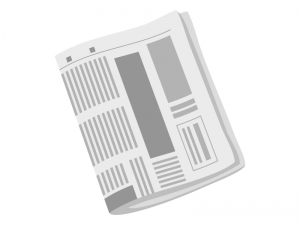 新聞紙・朝刊のイラスト