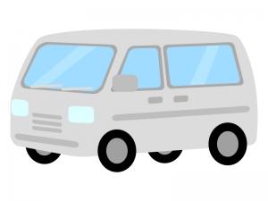 自動車・1BOXカーのイラスト02