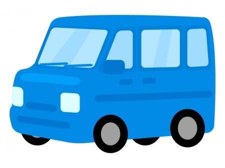 自動車・ミニバンのイラスト