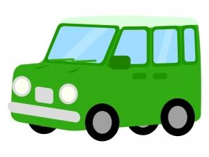 自動車・ミニバンのイラスト02