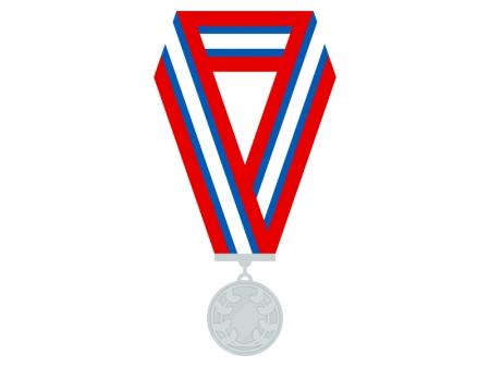 銀メダルのイラスト