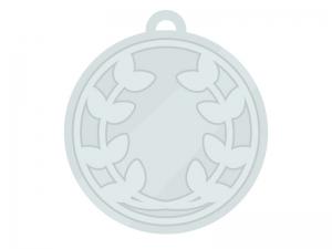 銀メダルのイラスト02