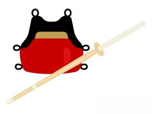 剣道・胴のイラスト