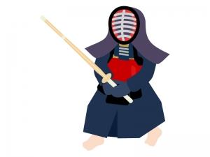 剣道のイラスト