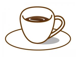 コーヒーのイラスト イラスト無料かわいいテンプレート