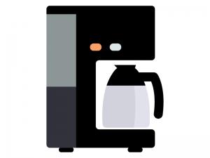 コーヒーメーカーのイラスト02