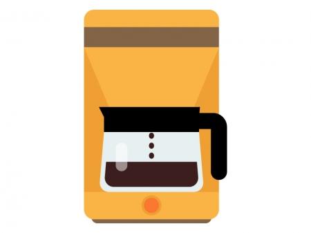 コーヒーメーカーのイラスト03